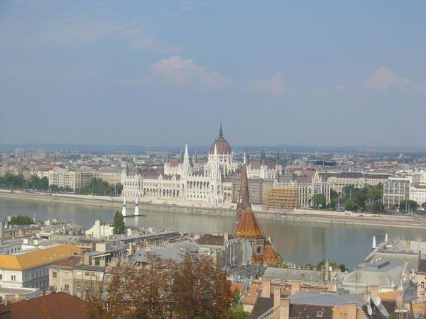 Budapest mi aout, il fait chaud! lol