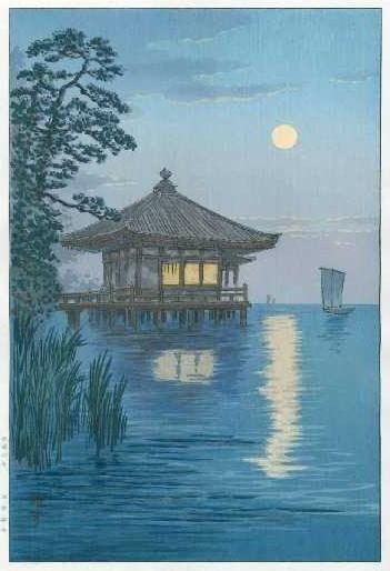 Yuhan Ito (1882-1951) fait parti du mouvement Shin-Hanga, qui signifie &quot&#x3B;nouveaux tableaux&quot&#x3B;, soit la nouvelle vague de l'art japonais. il a peint de nombreux paysages, o&ugrave&#x3B; l'absence de figure humaine rajoute &agrave&#x3B; l'esprit paisibl