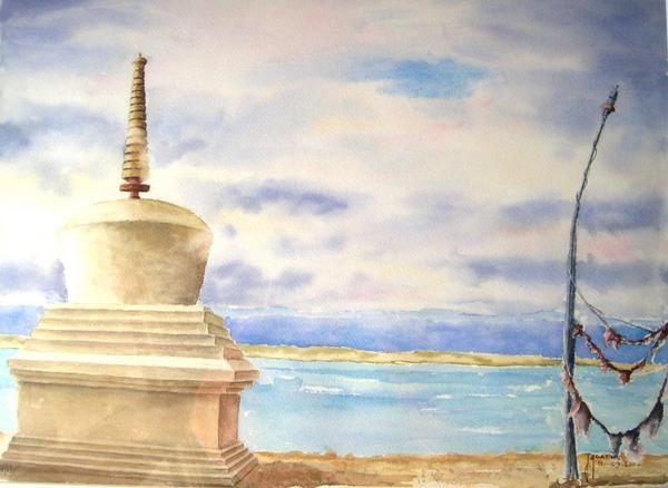 Album - Tibet aquarelles et huiles