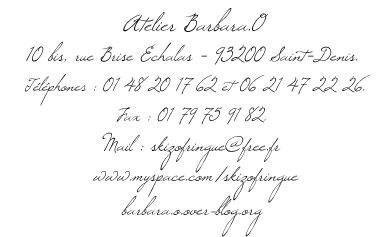 Album - Catalogue des créations Barbara O. Automne-Hiver 2009