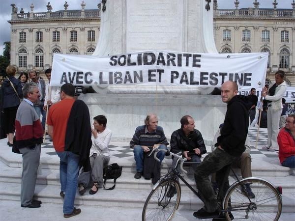Album - Nancy 12 août 2016. Solidarité Liban Palestine
