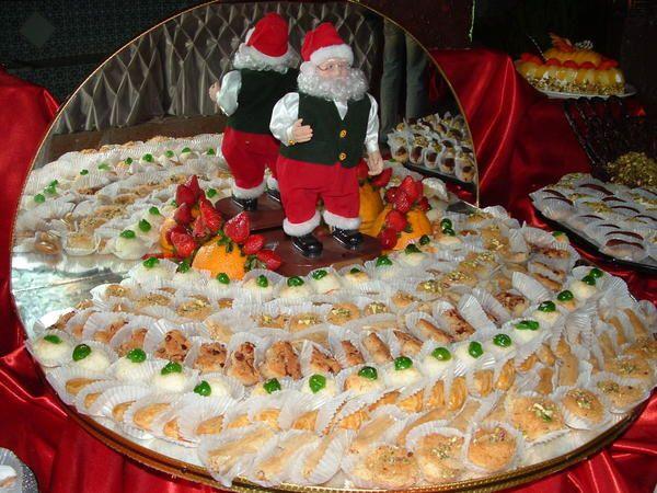 <p>buffet proposé le soir de noël pour le plaisir des yeux et des papilles......</p>