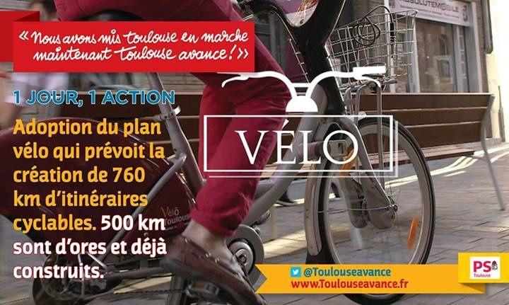 La campagne avec Toulouse Avance