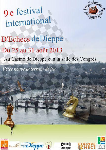 Animations, événements, tournois de l'été 2013 à Dieppe