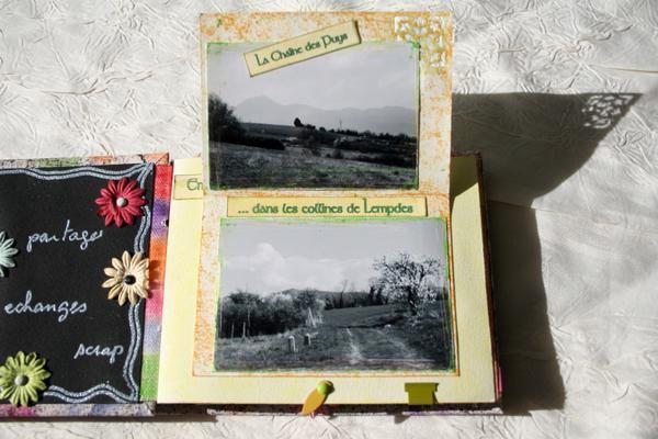 Je vous donne ici un aperçu des minis albums que j'ai réalisés