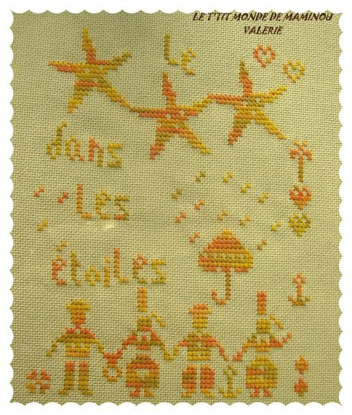 Broderies de mes collègues brodeuses