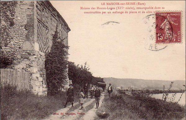 Le Manoir-sur-Seine, quelques cartes postales anciennes
