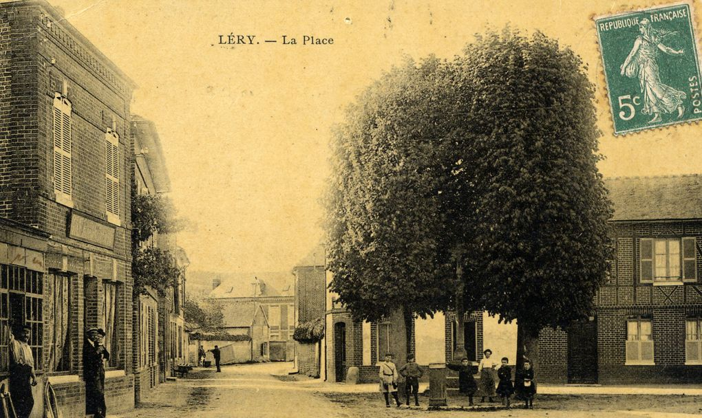 Léry, cartes postales anciennes
