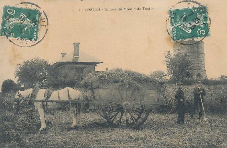 Tostes en quelques photographies et cartes postales anciennes