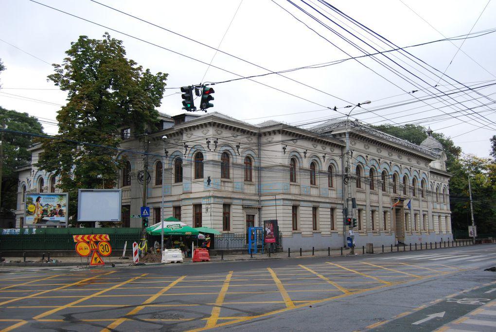 Bucuresti, liceul Lazàr, Gradina Cismigiu.Photos: Emmanuel CRIVAT (M. et Em. presse)