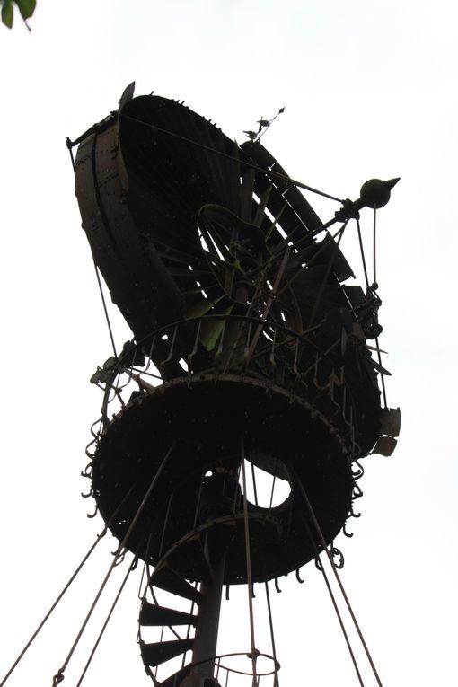 L'éolienne Bollée du Château de Trilbardou (Seine et Marne)Photos: Emmanuel CRIVAT© (17/10/2009)