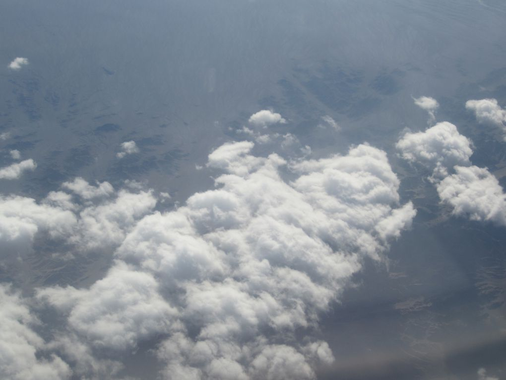 Survol de toutes les Russies et la Chine, avec l'Himalaya à l'horizon. Photos: Emmanuel CRIVAT
