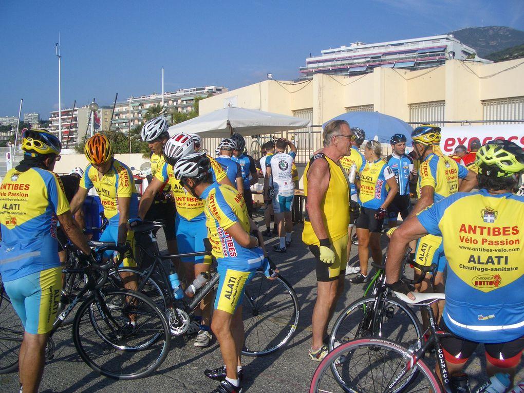 rassemblement organisé par le velo club de Roquebrune-Cap-Martin