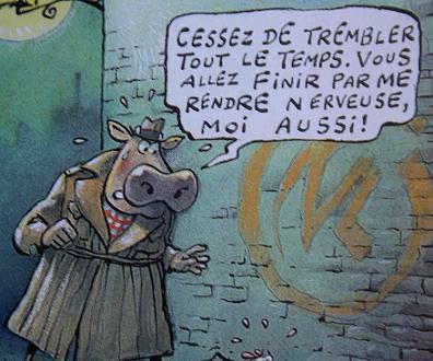 <p>Les clins d'oeil sont surtout dirigés vers les Maîtres de la BD : Hergé, EP Jacobs, Hugo Pratt</p>