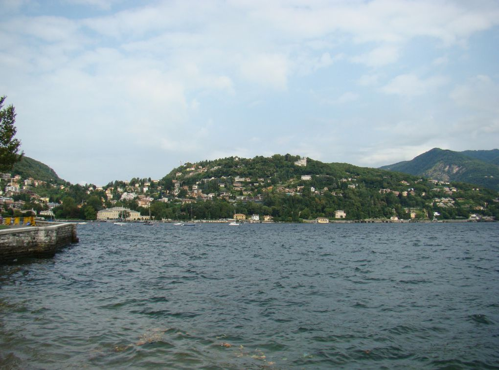 Bergame, Come, Lac majeur, Isola Bella, Isola Madre, Oliveto, Verone,