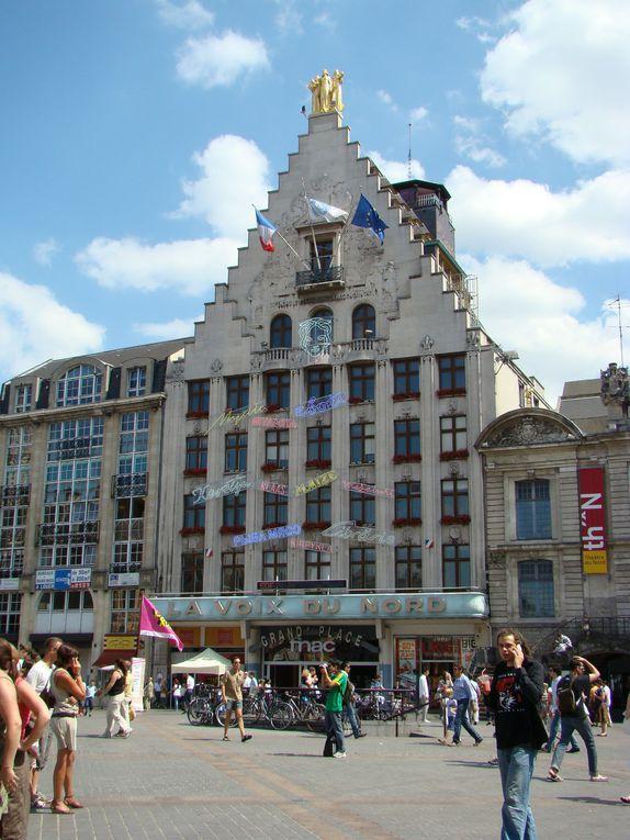 Lille, Boulogne-sur-mer, le Crotoy, cimetière chinois de Nolette, Senlis, Chantilly, relais d'Aumale,
