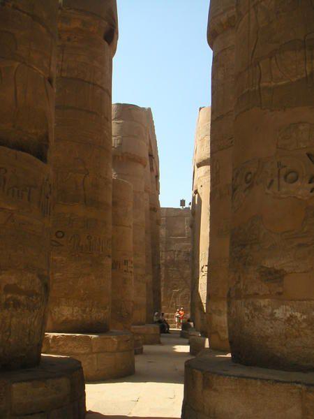 Le temple de Karnak en Haute-Egypte.Vous trouverez les articles connexes à cette adresse : http://egypte06.over-blog.com/15-categorie-606524.html