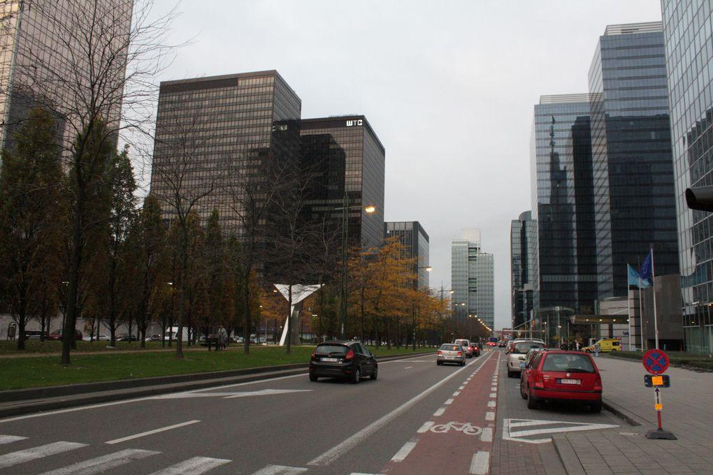 paysages et formes urbaines dans les villes européennes.Photographie François Arnal