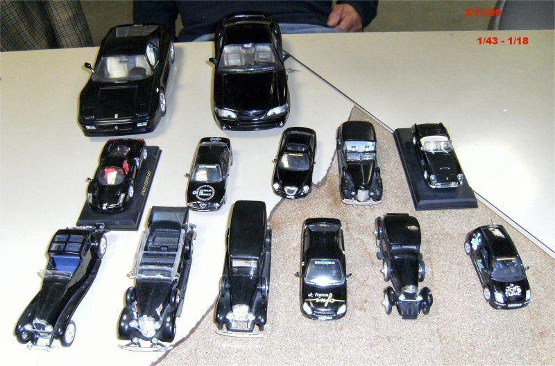 les auto noir