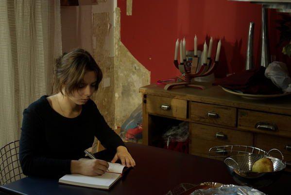 """Les photos de tournage issues de la réalisation de mon premier court-métrage en conditions professionnelles : """"Le journal""""."""