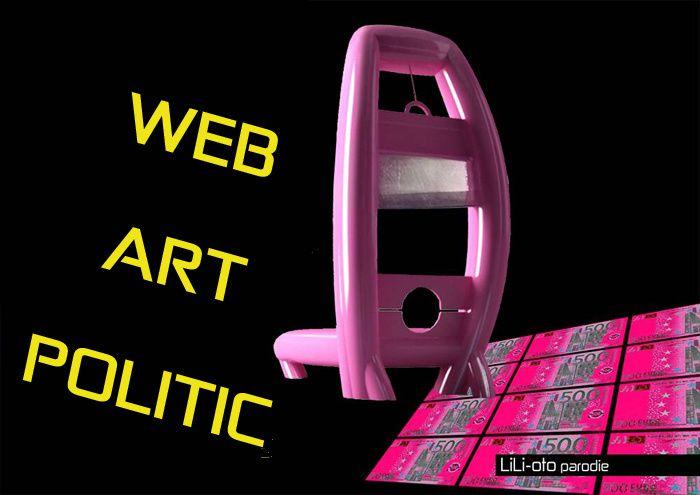 web art politic ou web art politique, résistance et luttes numériques chez les artistes plastciens contemporains dans l'art contemporain.