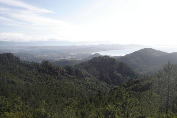 Un matin t&ocirc&#x3B;t, monter sur les sommets de mes montagnes ch&eacute&#x3B;ries qui plongent leurs c&icirc&#x3B;mes abruptes dans l'azur de la M&eacute&#x3B;diterran&eacute&#x3B;e...