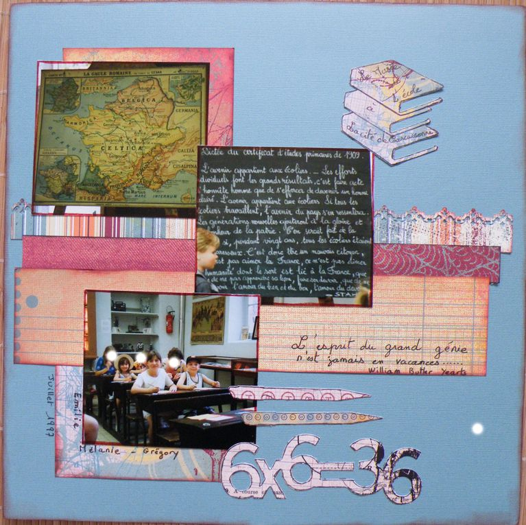 Album - pages scrap 2009
