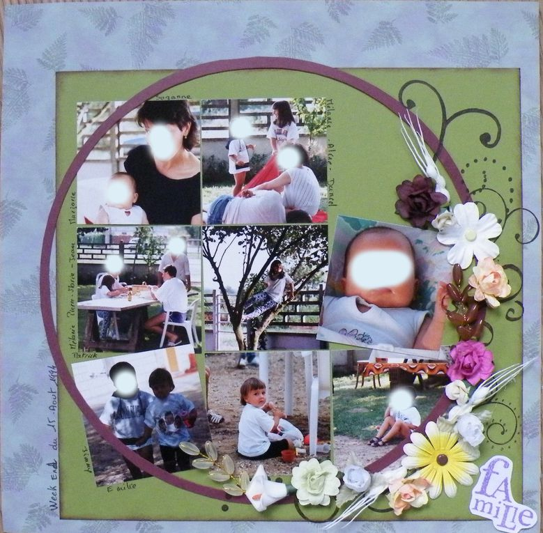 Album - pages scrap 2010
