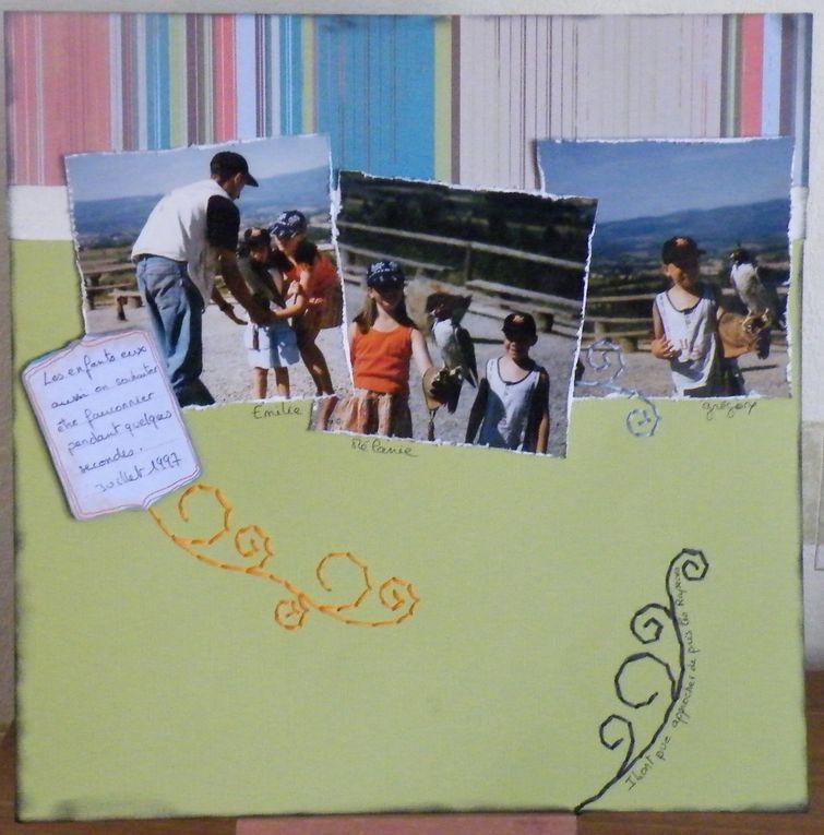 Album - pages scrap2011