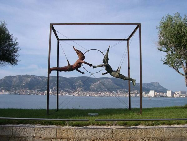 oeuvres des artistes exposant à l'Espace Castillon</p>