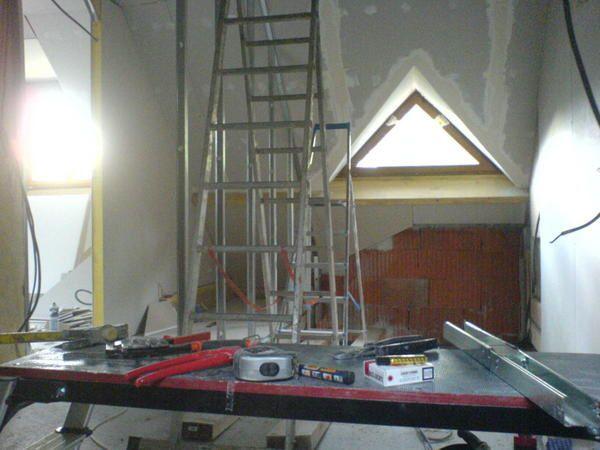 Les photos des installations int&eacute&#x3B;rieures, de l'&eacute&#x3B;lectricit&eacute&#x3B; en passant par la plomberie, isolation, placo...