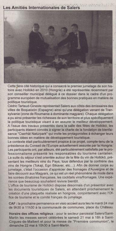 Album - Revue de Presse de Salers