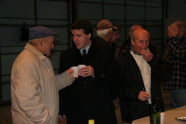 Photos des voeux des Pompiers de Salers, le 6 janvier 2007
