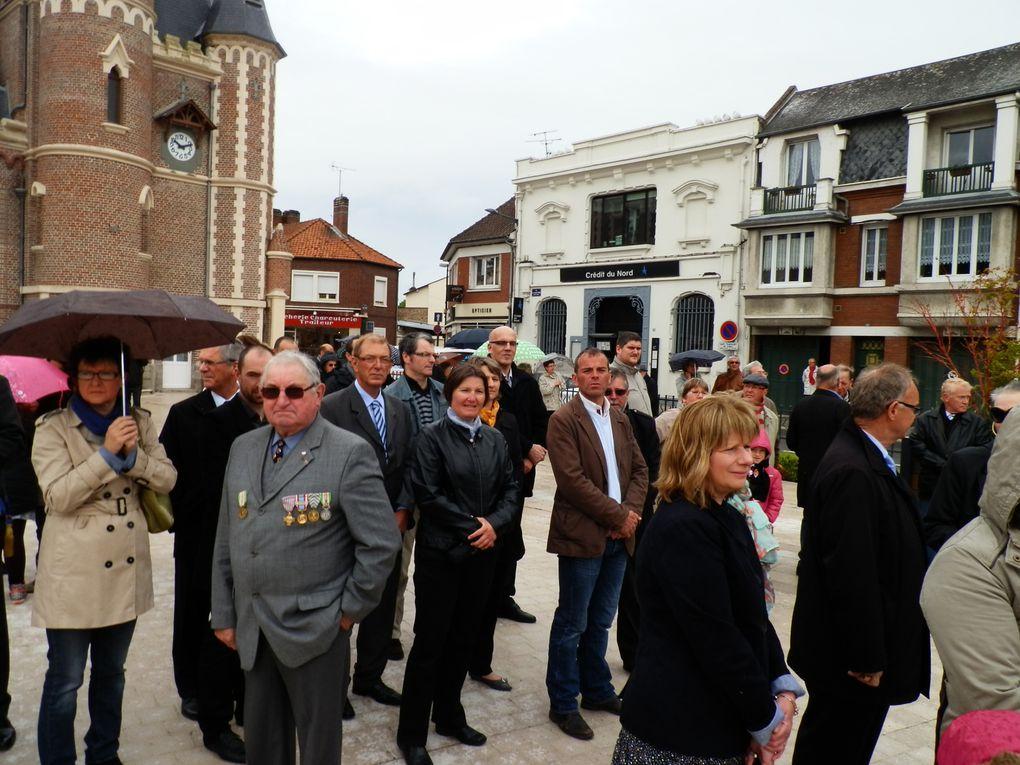 Jeudi 8 mai 2014 à Corbie - Commémoration du 8 mai 1945