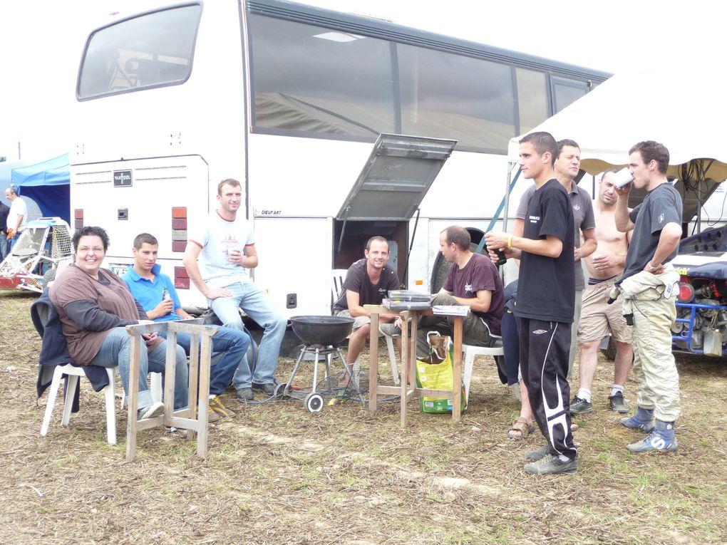 Les 12 et 13 juin 2010 à Aydie (64), épreuve du Championnat de France d'autocross.