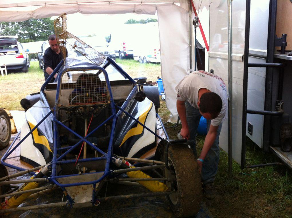 Les 9 et 10 juin 2012 à Aydie (66), 5ème épreuve du championnat de France d'autocross.