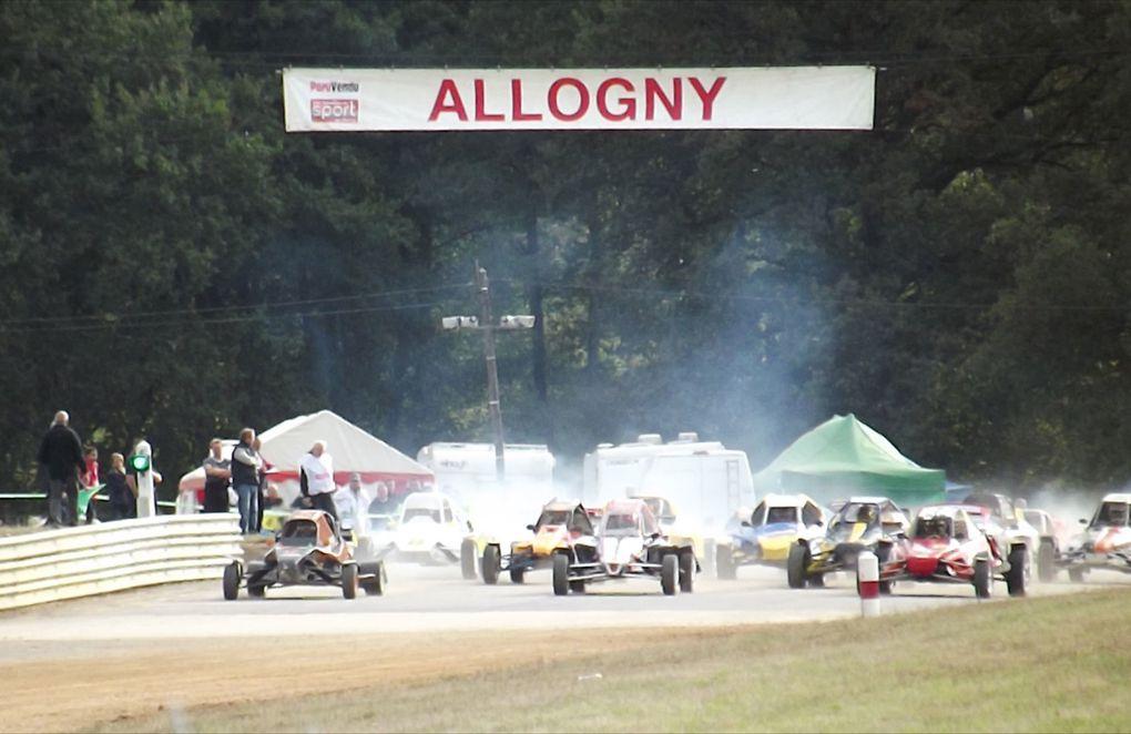 Les 29 et 30 septembre 2012 à Bourges (15), dixième épreuve du Championnat de France d'autocross.