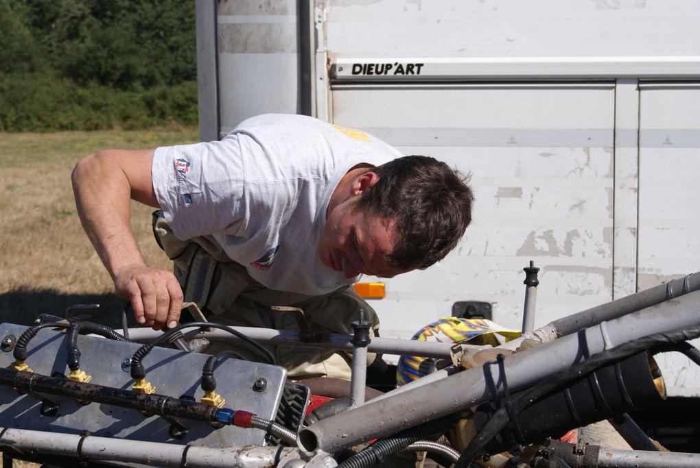 Les 1er et 2 août 2010 à Fenioux, épreuve du Challenge Bernard Seiller.