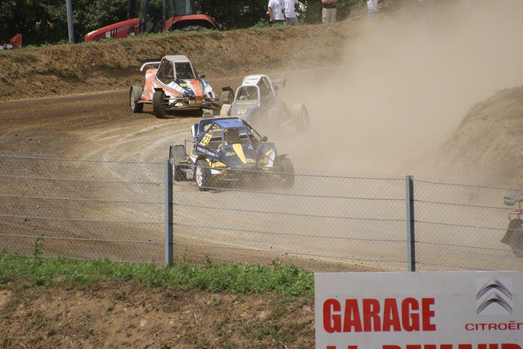 Les 28 et 29 juillet 2012 à St-Georges-de-Montaigu (85), 7ème épreuve du Championnat de France d'autocross.