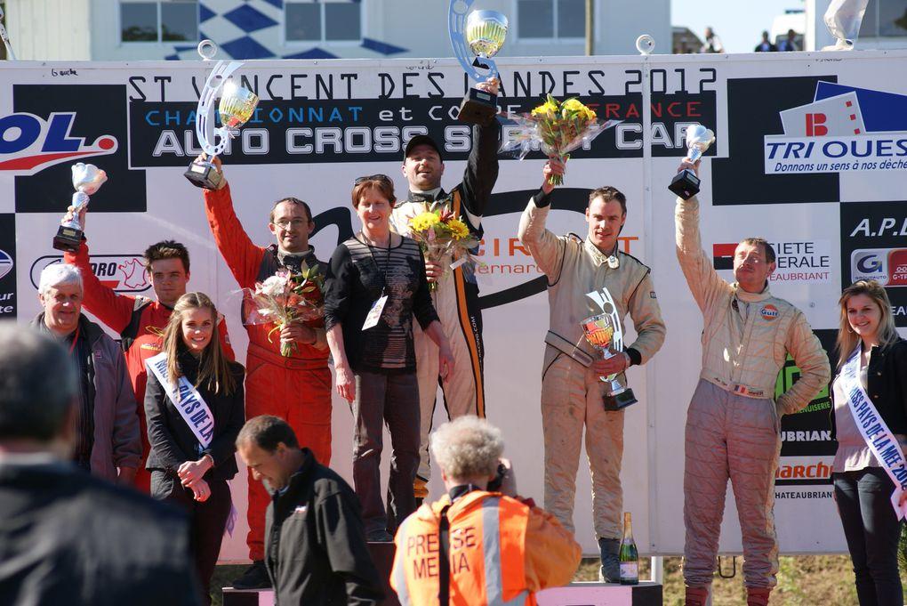 Les 12 et 13 mai 2012 à St-Vincent-des-Landes (44), 3ème épreuve du Championnat de France d'autocross.