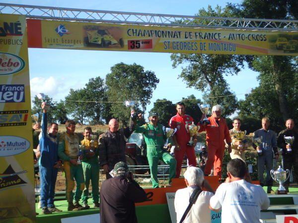 29 et 30 juillet 2006 à Saint-Georges-de-Montaigu (85), épreuve du Championnat de France d'autocross comptant pour le Challenge Bernard Seiller.