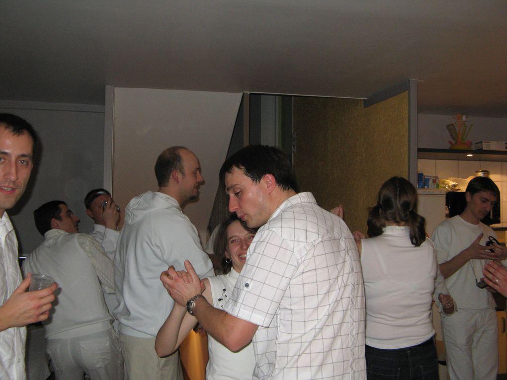 "Réveillon 2009 ""Tous en Blanc"" chez Seb & Aurélia"