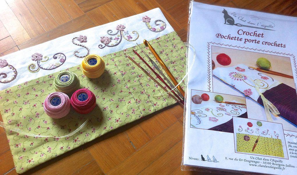 Album - Pochette-porta-crochets