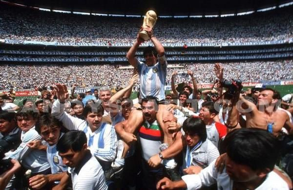En 1986, la coupe du monde de football, au Mexique