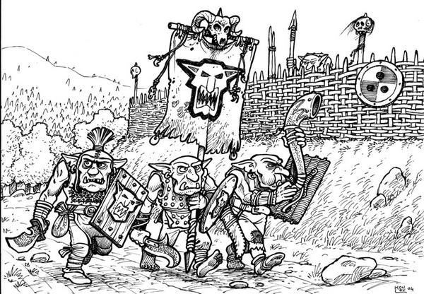 Calendrier Warhammer