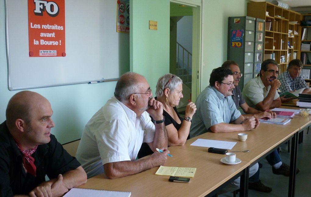 Dans le cadre des rencontres syndicales internationales que nous avons de longue date à l'UD FO de la Côte d'Or, Édouard GUERREIRO n'a pas failli à cette tradition. Il a reçu, dans les locaux de l'Union Départementale, en présence de q