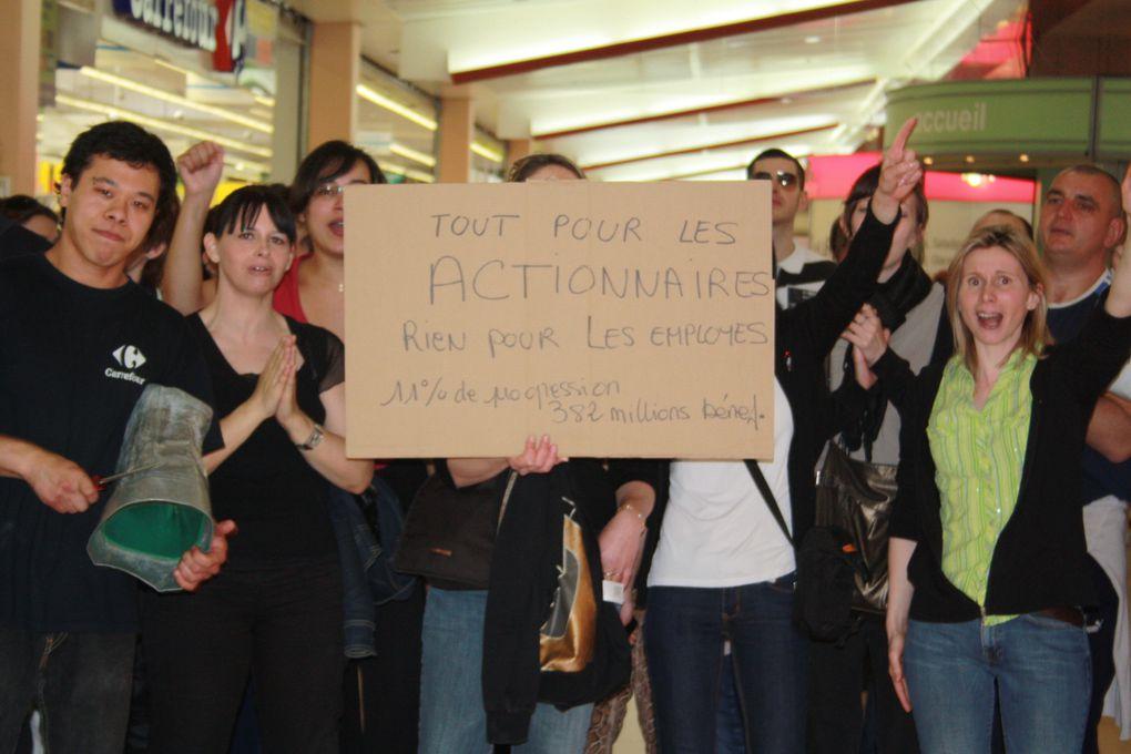 Les hypermarchés Carrefour en grèveJournée mouvementée en perspective dans les hypermarchés Carrefour. Selon les syndicats, l'appel à la grève national lancé par FO, la CGT et la CFDT (voir nos éditions du 30 mars) devrait être très sui