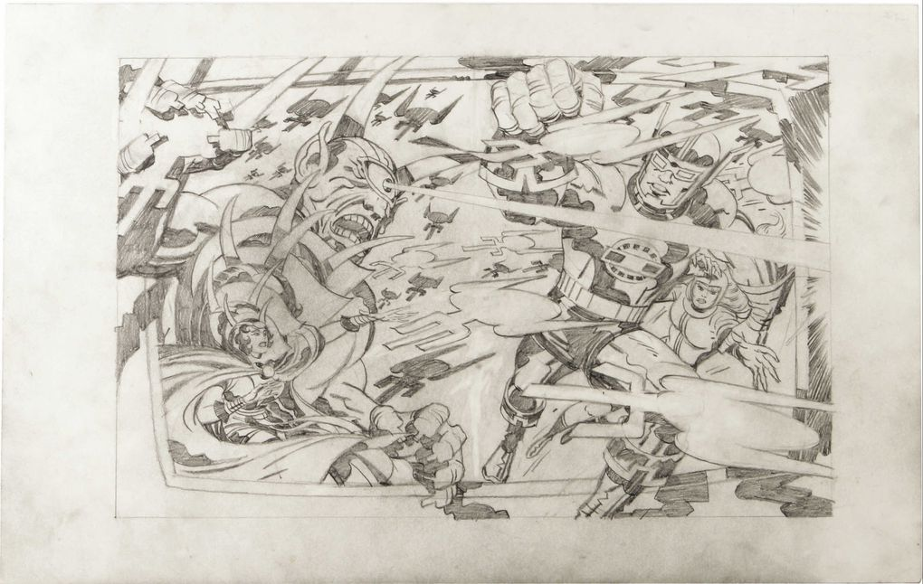 illustrations By Jack Kirby