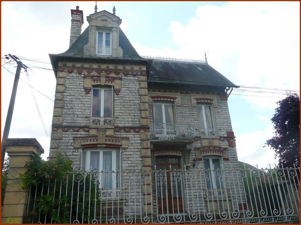 Château Landon Seine et Marne ,Tusson ,Nanclars en Charente,Prieuré en Touraine,Sully