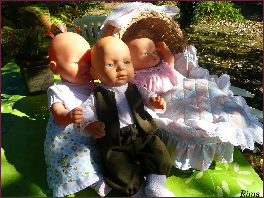 poupées,paysages,maisons ,moulins,